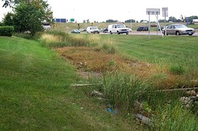 roadside ditch treatment